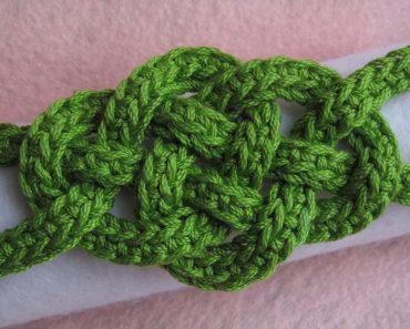 Jennifer E Ryan   Celtic Knot Crochet   Celtic Knot Bracelet