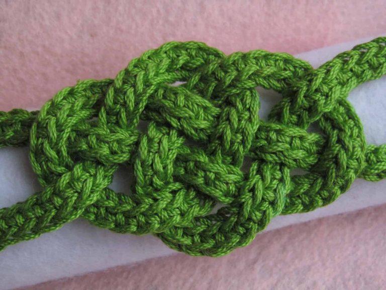 Jennifer E Ryan | Celtic Knot Crochet | Celtic Knot Bracelet