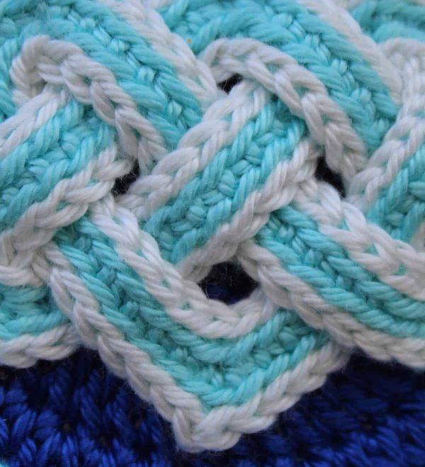 Jennifer E Ryan | Celtic Knot Crochet | NatCroMo Special