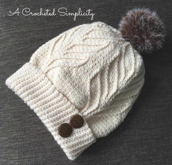 Jennifer Pionk | A Crocheted Simplicity | Matterhorn Ski Slouch