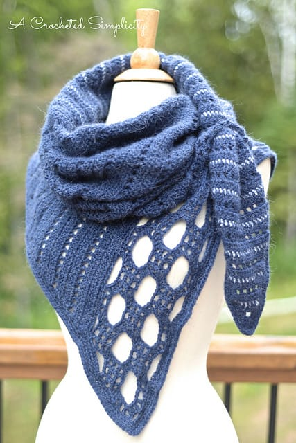 Jennifer Pionk | A Crocheted Simplicity | Northern Skies Convertible Scarf and Cowl