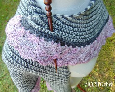 Julie Desjardins | ACCROchet | Granite & Quartz Shawl