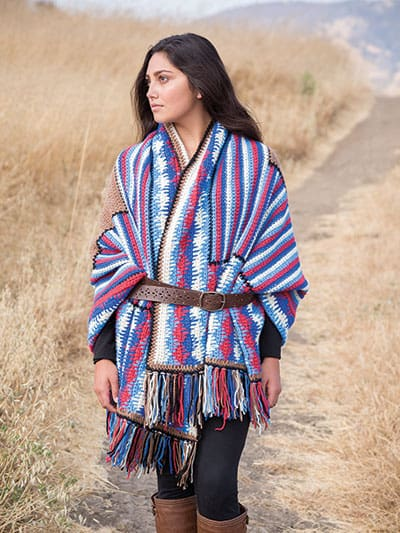Karen McKenna | I Hook Design | Navajo Stole