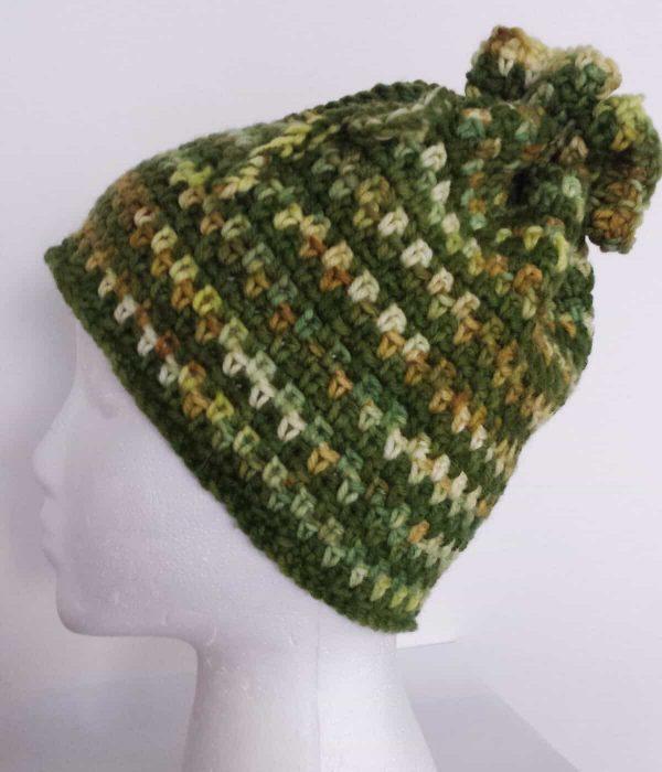 Karen McKenna | I Hook Design | Fresh Greens Hat/Cowl