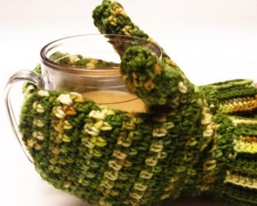 Karen McKenna | I Hook Design | Fresh Greens Mitts