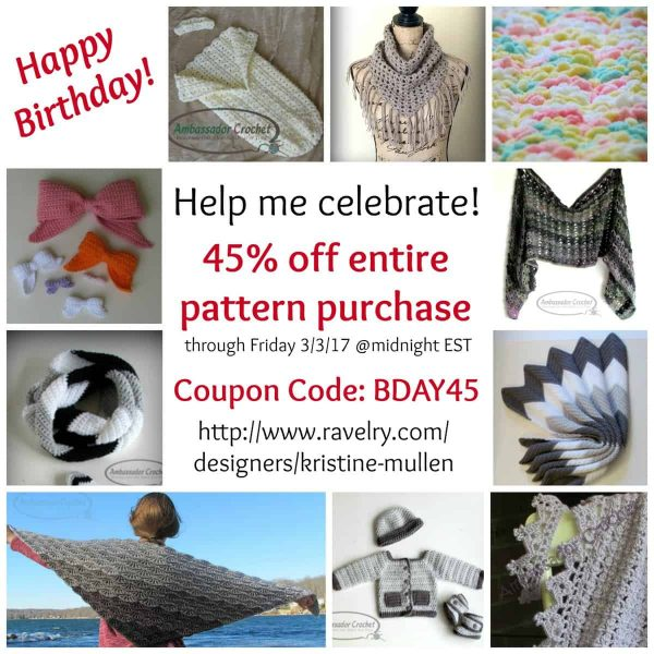 Kristine Mullen | Ambassador Crochet | NatCroMo Specials