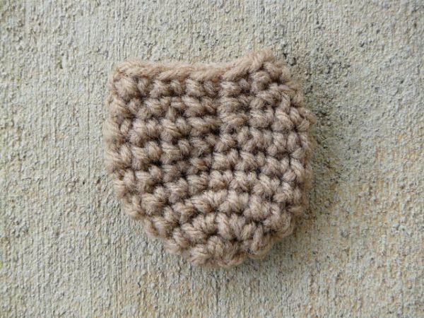 Leslie Stahlhut | Crochet Bug | Fitted Chair Leg Sock
