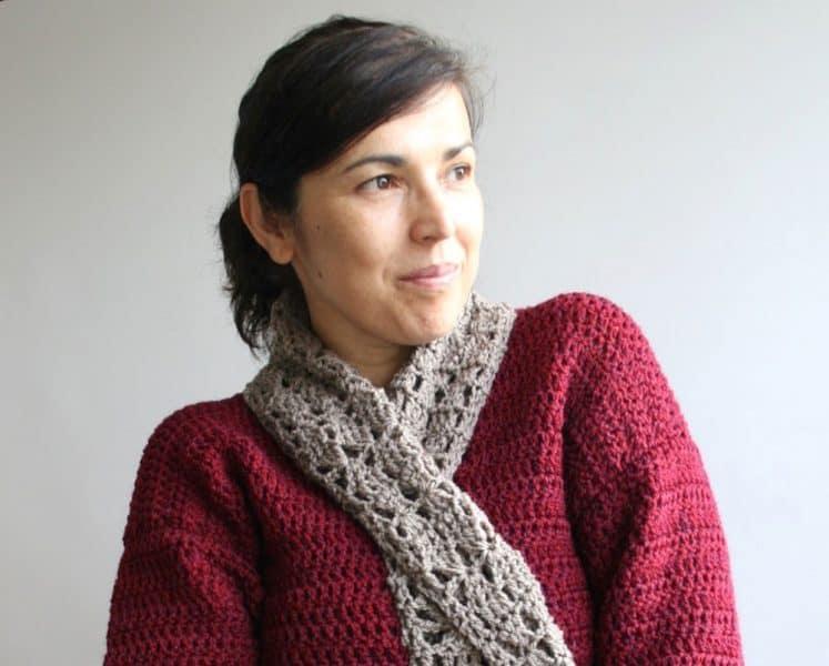 Crochet Designer Luz Mendoza of Luz Patterns