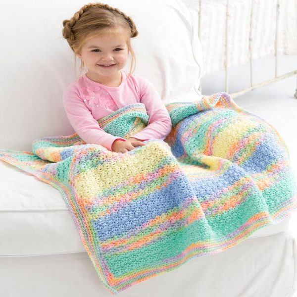 Tropical Baby Blanket by Marty Miller