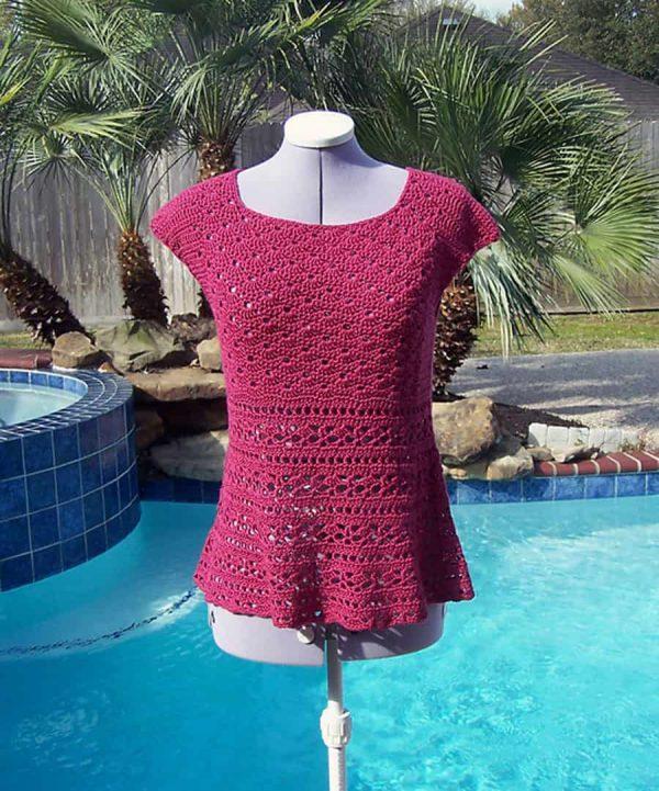 Petal Top - Crochet - Natasha Robarge