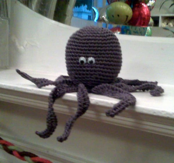 Phyllis Serbes | Mainly Creative Gifts | Pollie the Octopus