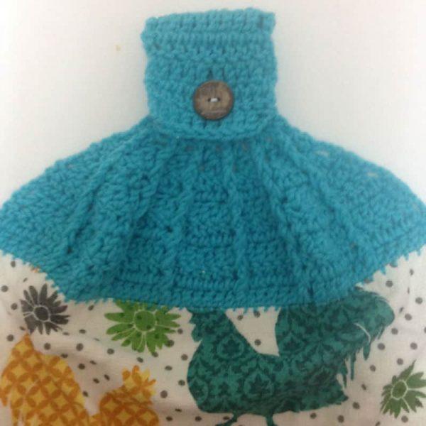 Post Stitch Towel Topper - Susan Heyn