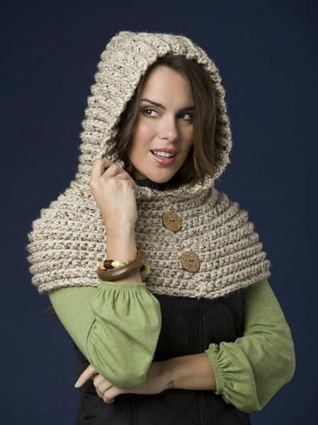Red Riding Hood Capelet - Crochet - Jocelyn Sass