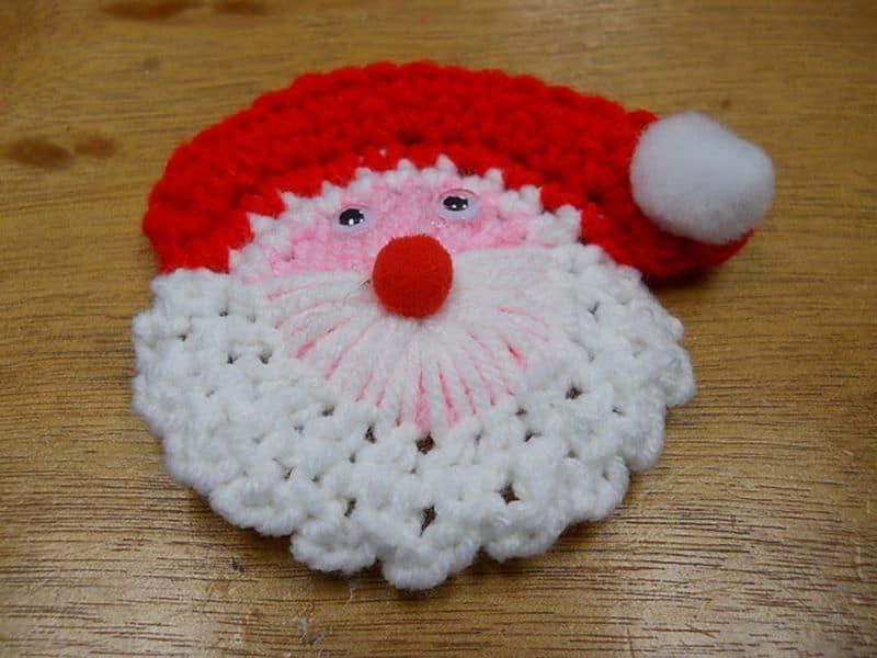 Santa Lapel Pin - Susan Heyn