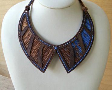 Shelby Allaho | eWoodStory | Nouveau Necklace Kit