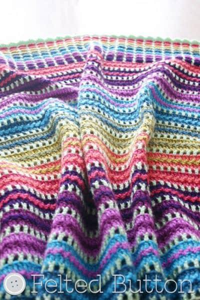 Skittles Blanket by Susan Carlson