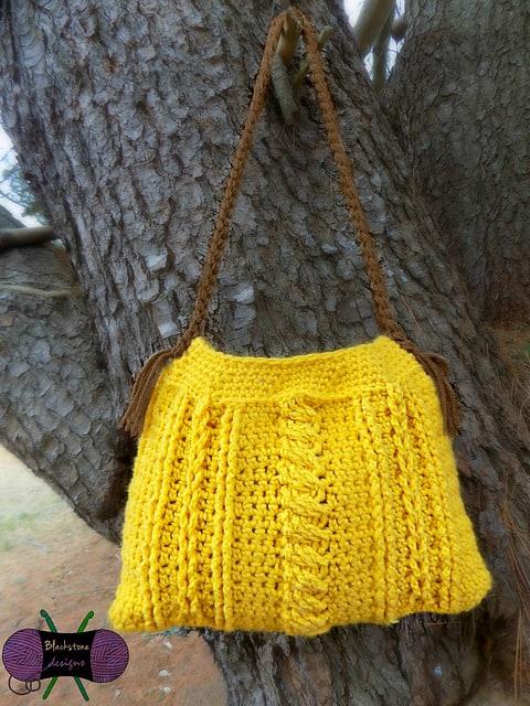 Sonya Blackstone | Blackstone Designs | Chic Cables Handbag