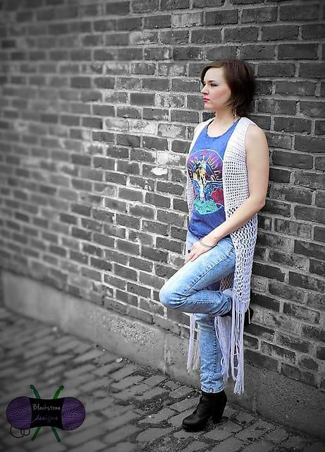 Sonya Blackstone | Blackstone Designs | Lyrical Maxi Vest