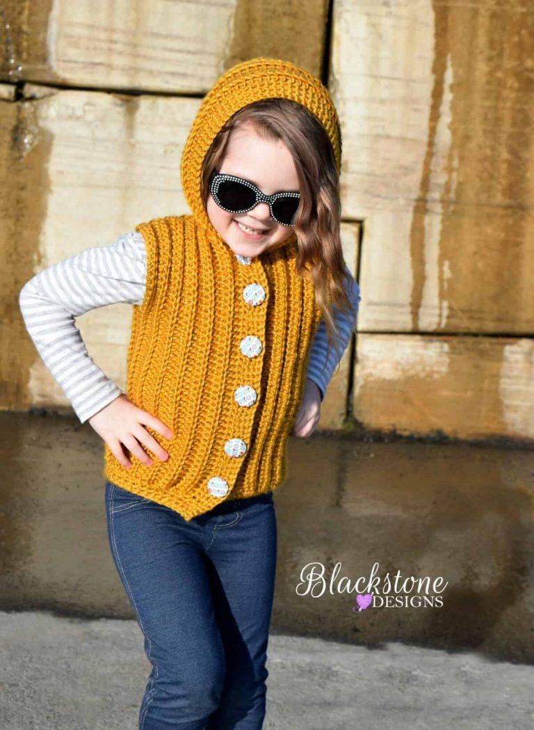 Sonya Blackston | Blackstone Designs | Sunkissed Hooded Vest