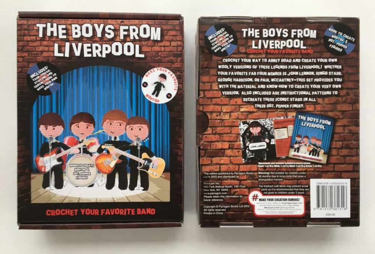 The Boys from Liverpool Crochet Kit