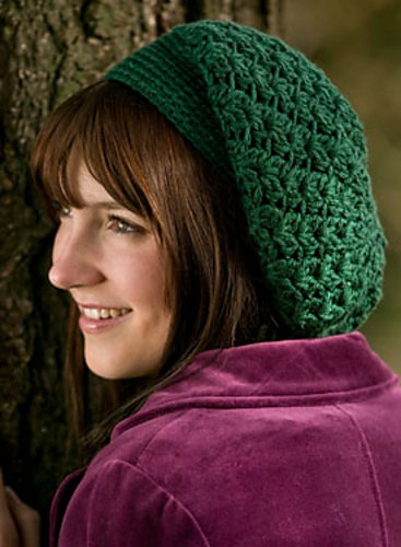 Tian Connaughton | Knit Designs by Tian | Galway Slouchy Beret