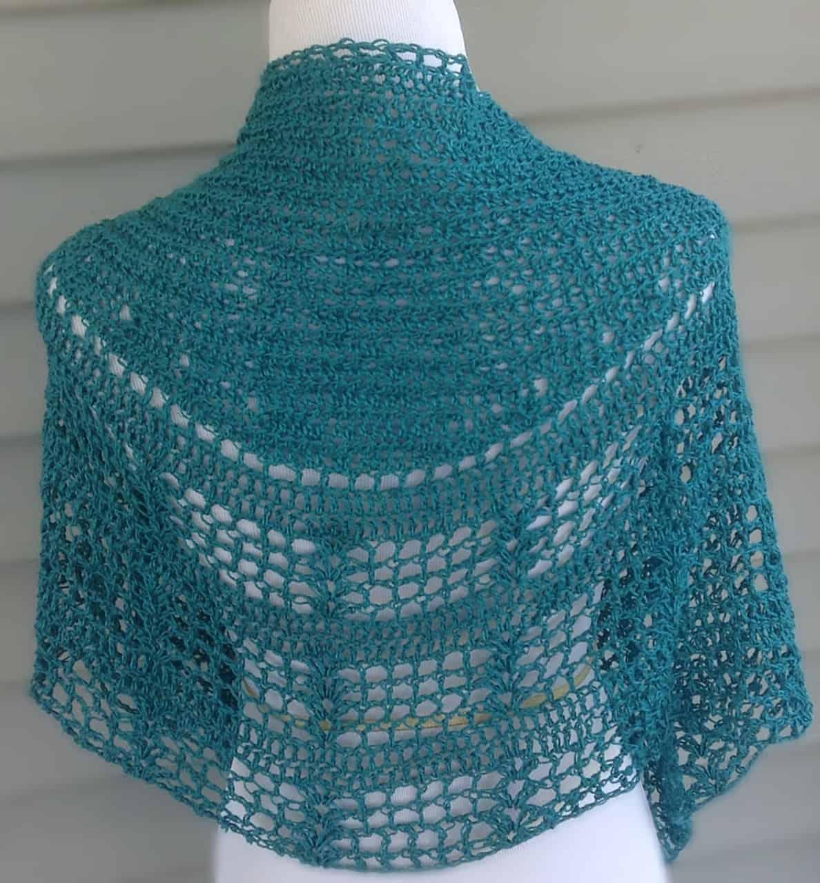 Tian Connaughton   Knit Designs by Tian   Leymus Shawl