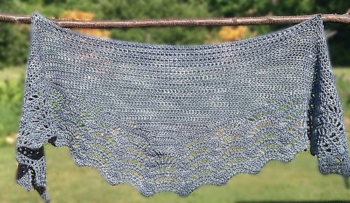 Tian Connaughton | Knit Designs by Tian | Keora Shawl
