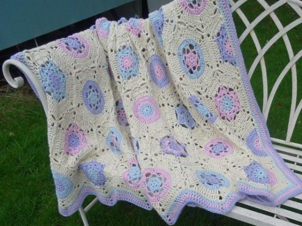 Valerie Bracegirdle | Agrarian Artisan | Spring Blossom Blanket