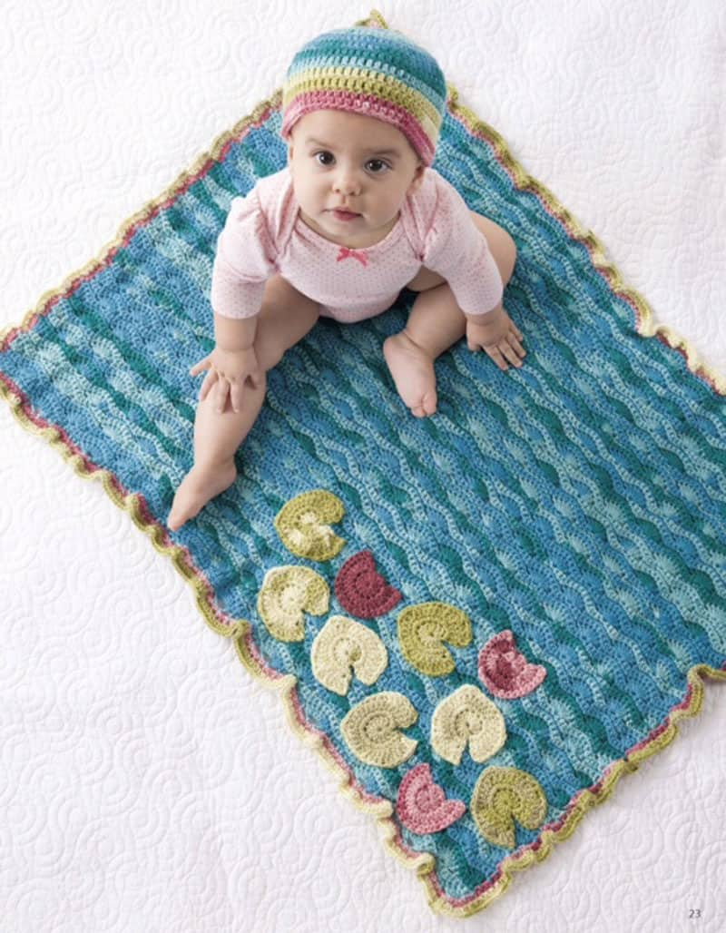 Water Lilies Set - Crochet - Sara Leighton