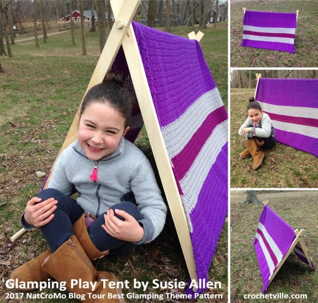 Glamping Play Tent Collage - Susie Allen
