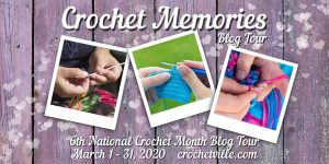 Cover image for Crochet Memories NatCroMo Blog Tour 2020