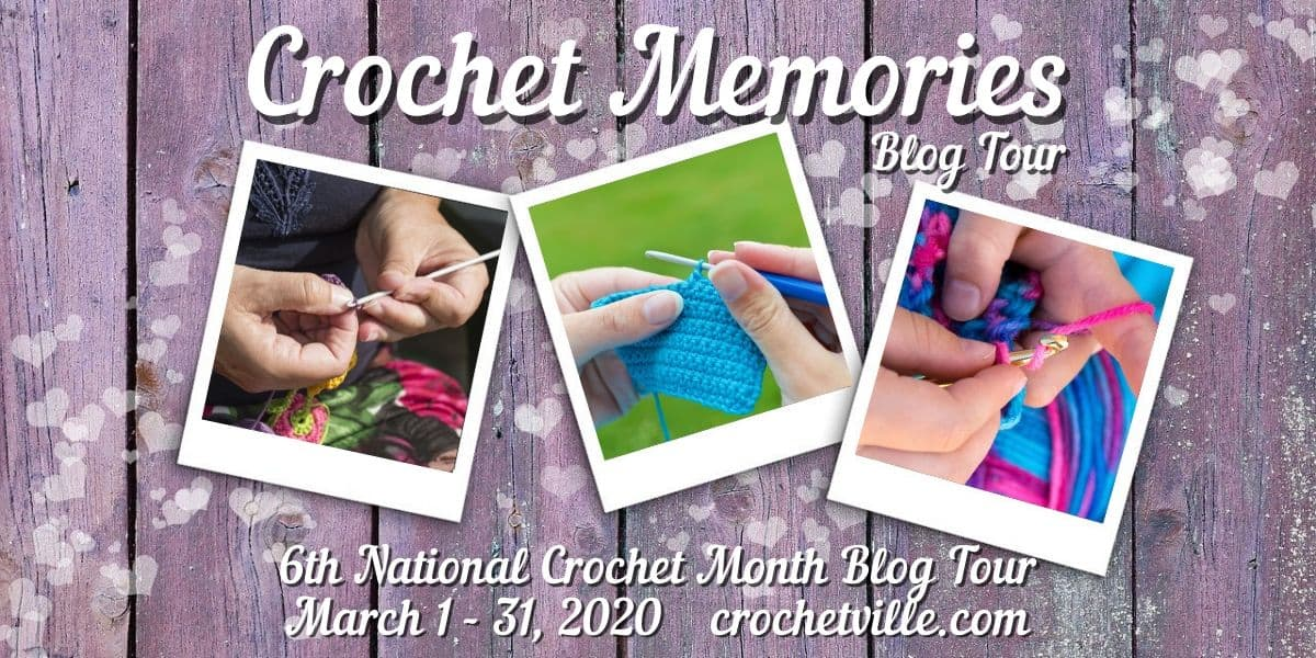 Crochet Memories Blog Tour: NatCroMo 2020