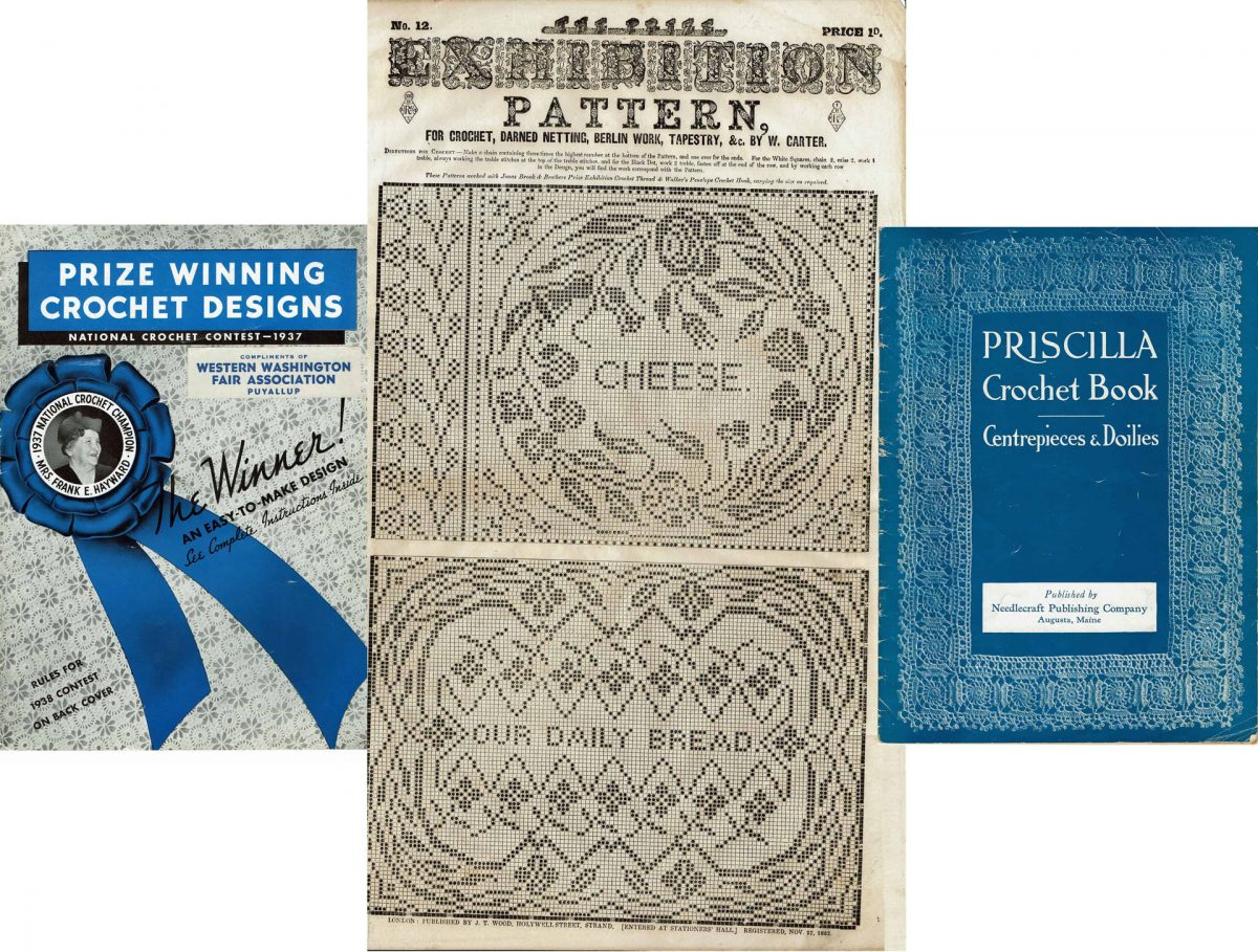 Giveaway: Vintage Crochet Publications