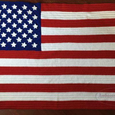 American Flag Blanket