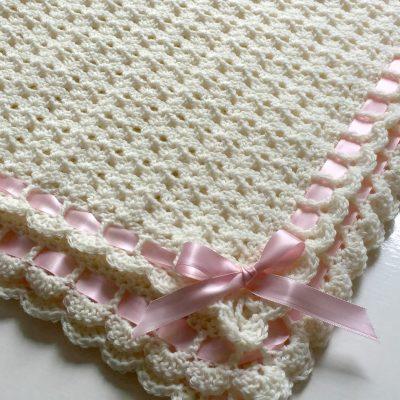 Pemberley Heirloom Baby Blanket